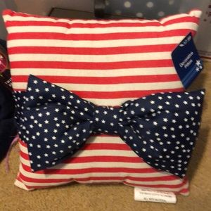 American flag decorative mini pillow new